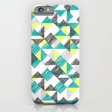 scribble triangles iPhone 6s Slim Case