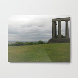 View of the Folly Metal Print
