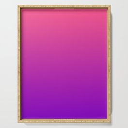 Pink and Purple Gradient Serving Tray