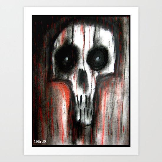 Grimly II Art Print