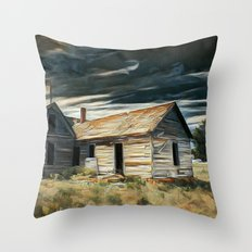 Lost in plain view Throw Pillow
