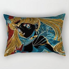 Usagi and the Starry Night Rectangular Pillow