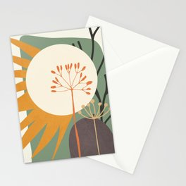 Abstract Plant 03 Stationery Cards