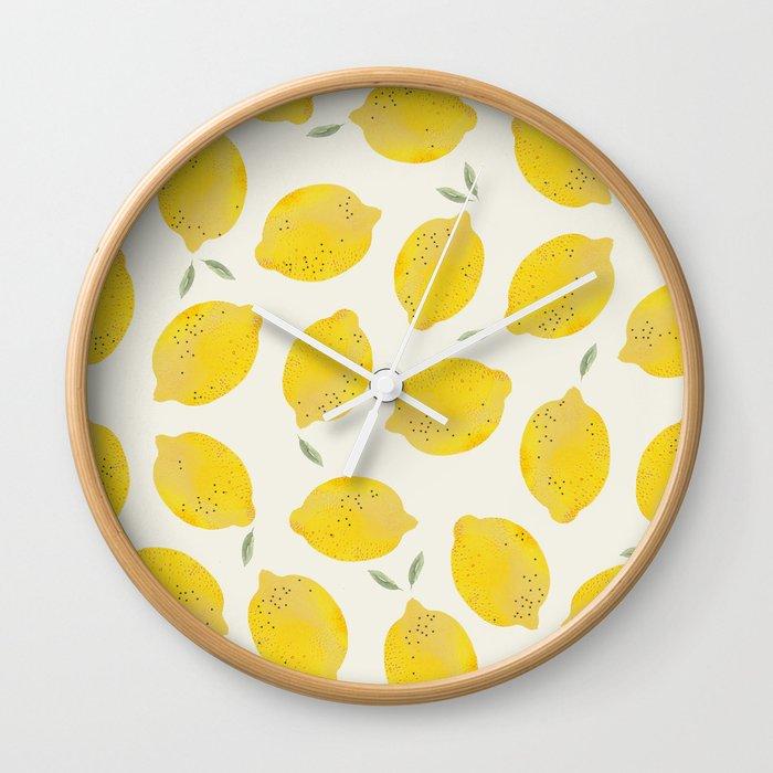 LEMON Wall Clock