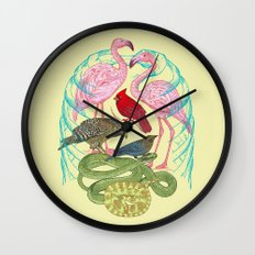Wild Anatomy II Wall Clock