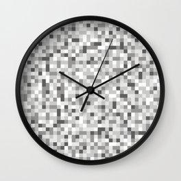8bit texture Wall Clock