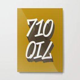 710 Metal Print