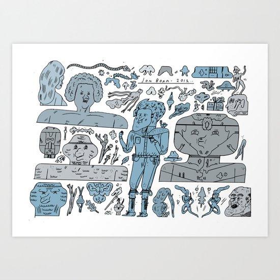 oioioioioi Art Print