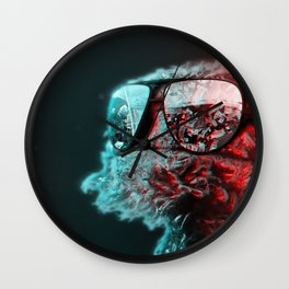 Grew Up in These Streets Wall Clock