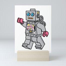 Love Bot Mini Art Print