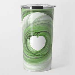 Valentine's Fractal V - Light Travel Mug