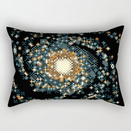 Pinwheel Galaxy M101 (8bit) Rectangular Pillow