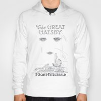 gatsby Hoodies featuring The Great Gatsby by S. L. Fina