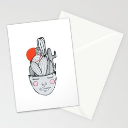 CACTUS MIND Stationery Cards