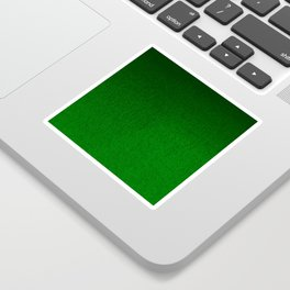 Emerald Green Ombre Design Sticker