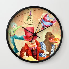 Mr Kite Wall Clock