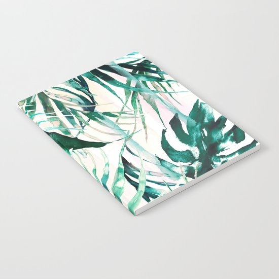 Green Tropical paradise  Notebook