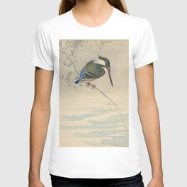Kingfisher - Ohara Koson (ca. 1920) T-shirt