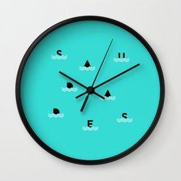 Saudades Wall Clock