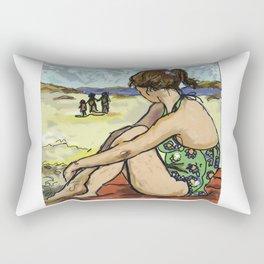 Dolly Dreaming (Saw Sea Series) Rectangular Pillow
