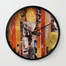 Butterfly Woman Wall Clock