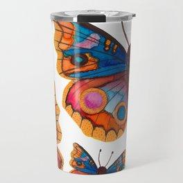 Blue Buckeye Butterflies Travel Mug