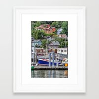 alaska Framed Art Prints featuring Alaska by Christine Workman