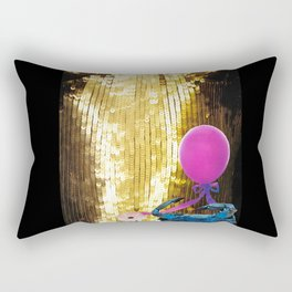 Love of Contrast & Listening to a Belly Full of Laughter Rectangular Pillow
