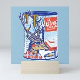 Maple sirup can Mini Art Print