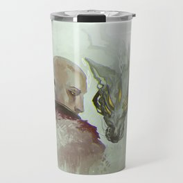 He Walks Alone Travel Mug
