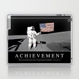 Achievement: Inspirational Quote and Motivational Poster Laptop & iPad Skin