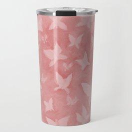 Blushing Butterflies Travel Mug