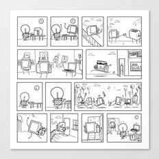 Computers Canvas Print