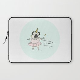 When i grow up Laptop Sleeve