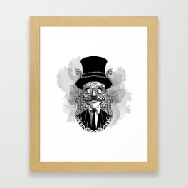 Steampunk Man Framed Art Print