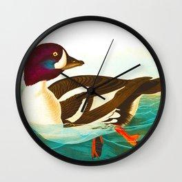 Goldeneye Duck Wall Clock
