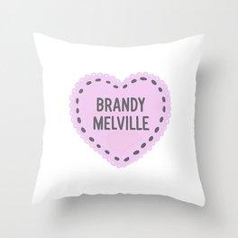 Brandy Melville   Throw Pillow