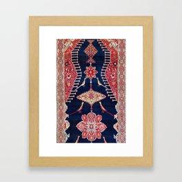 Karabagh Azerbaijan South Caucasus Kelleh Rug Print Framed Art Print