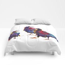 Ugly birds Comforters