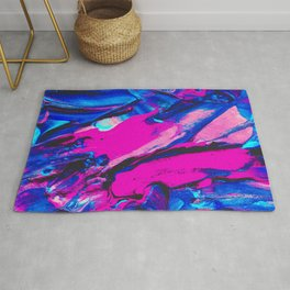 Marble Abstract Oil Painting Rug