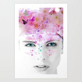 Beauty Blooms Art Print