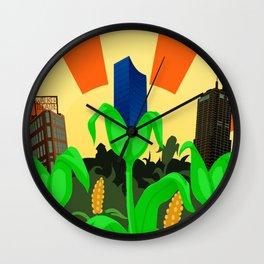 Nap Town Wall Clock