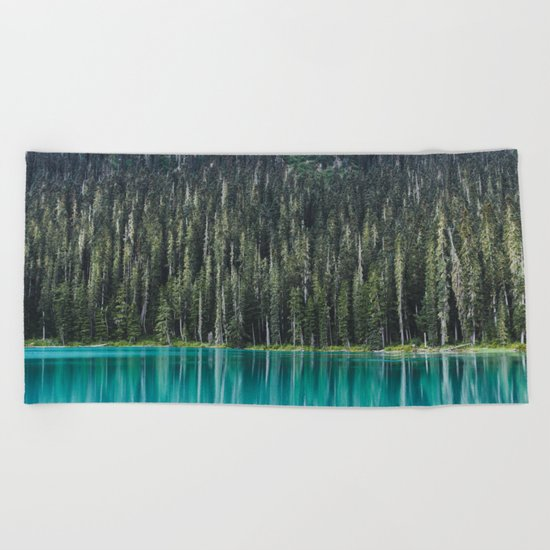 Joffre Lake Beach Towel