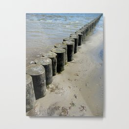 On the Baltic Sea Metal Print