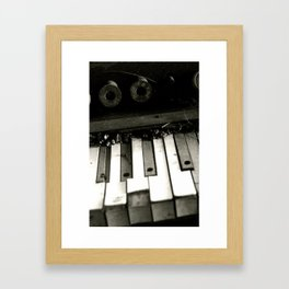 Ivory Keys Framed Art Print