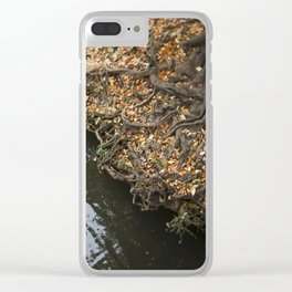 Fairytale Trees Clear iPhone Case
