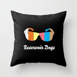 Minimal Reservoir Dogs Poster Throw Pillow