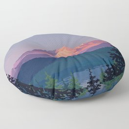 Solitude Floor Pillow