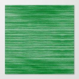 Bright Pastel Green Wood Beach House Cladding Canvas Print