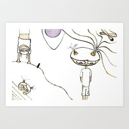 Play with me Art Print